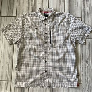 The North Face 14'R button down. EUC like new
